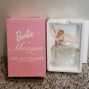 Barbie Marzipan Nutcracker Porcelain Ornnament
